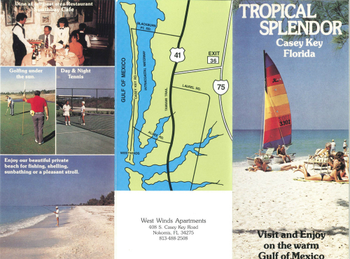 West Winds Apartments Nokomis Florida Brochure
